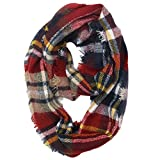 Ring Hals Schals, Quaan Winter Warm Plaid Wärmer Wickeln Halsband Schal …