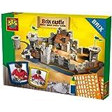 SES Creative 01674 - Castello in mattoncini, da costruire