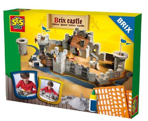 Zu Eine Burg Bauen (SES Creative 01674 - Große Ritterburg Brix)