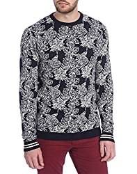 Jack & Jones Mens Cotton �Sweater (5712836656249_Grey_X-Large)