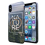 Nature Hills Forest Adventure Travel Apple iPhone X/XS SnapOn Hard Plastic Phone Protective Fall Handyhülle Case Cover