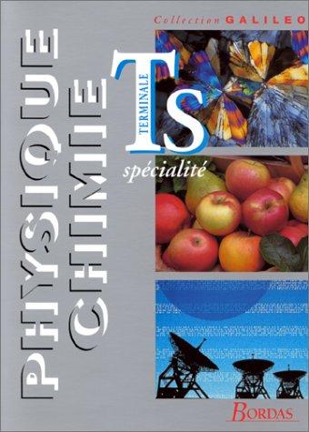 PHYSIQUE CHIMIE TERMINALE S. : Spécialité, programme 1995