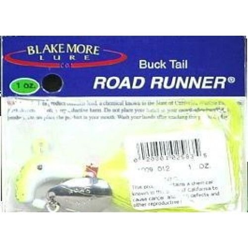real-magic-chartreuse-buck-tail-road-runner-1-ounce-fishing-high-quality-etc
