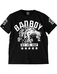 T-Shirt Bad Boy Wolf MMA-m MMA BJJ Fitness Grappling Camiseta