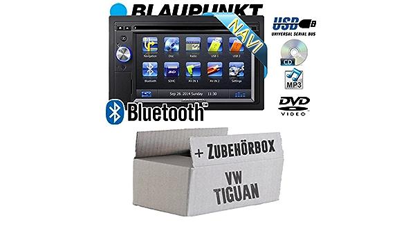 JVC 2-DIN CD//MP3//USB Auto Radioset für VW Touran /& Tiguan