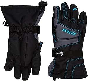 Gordini gants garçon Ultra Dri-max Gauntlet IV Junior Noir Black/Dark Grey/Teal XL