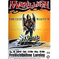 Marillion - The Cult Magnum 1987 - Konzertplakat, Konzertposter