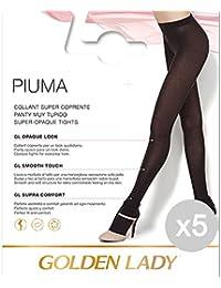 Set 5 GOLDEN LADY Collant Plume 3 Noir Socks Pour Les Femmes Vêtements  Tights 2b6d98651e7
