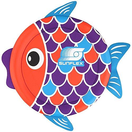 Sunflex Flying Fish Disc–Mehrfarbig