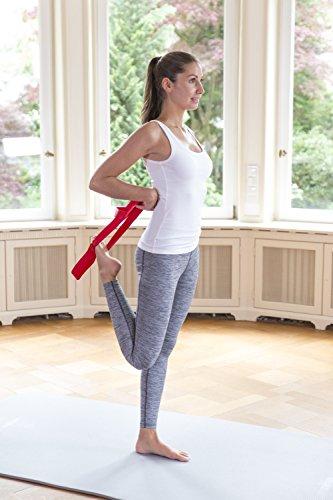 Liebscher & Bracht Schlaufe, erleichtert Übungen zur Engpassdehnung, für eine effiziente Schmerztherapie zusammen mit Yoga und Faszien-Training - 5