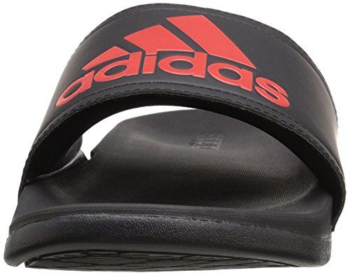 Adidas Performance Adilette Sc Su Fm Sandalen, schwarz / lebendige Rot, 6 M Us Black/Vivid Red