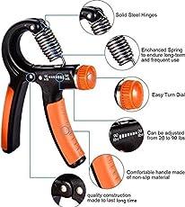 SPORTO FITNESS™ Hand Gripper-Best Hand Exerciser Grip Strengthener Adjustable 10 Kg to 40 Kg (Color May Vary)