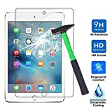 Infiland Apple Mini 4 Protection d'écran, Premium HD Clair Protection d'écran en Verre trempé pour Apple iPad Mini 4 Tablette