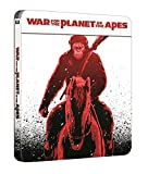 War for the Planet of the Apes Steelbook Blu Ray [Nordic]