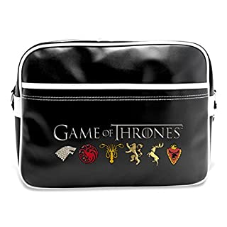 ABYstyle ABYBAG098 Game of Thrones Coat of Arms of the Kingdoms Messenger Bag, 48 cm, 25 Liters, Multicolor