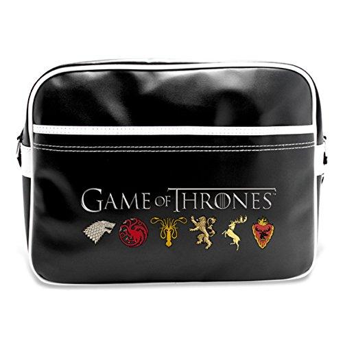 """Preisvergleich Produktbild ABYstyle ABYBAG098 Games Of Thrones """"Wappen der Königreiche"""" Umhängetasche, 25 Liter, Mehrfarbig"""