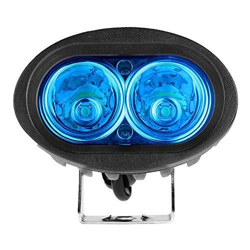 20W Oval Shape Durable Safety Driving Work Light Spot Warning Emergency Work Lamp LED Forklift Light For Truck Industrial Led Emergency Vehicle Lights