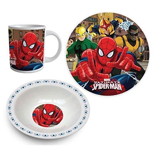 Spiderman Set Desayuno 3pcs (Suncity SPD101150)