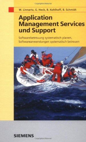 Application Management Services und Support. Softwarebetreuung systematisch planen, Softwareanwendungen systematisch betreuen.