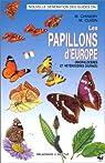 LES PAPILLONS D'EUROPE par Chinery