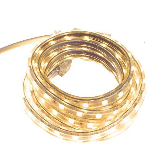 Smartfox 1m LED Leuchtstreifen mit 60 LEDs für Innen und Außen in Warmweiß