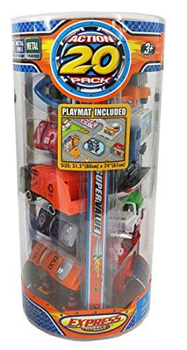 20 Stück Spielzeugauto PKW Express Wheels 8 cm für Parkgarage