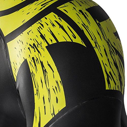 ZAOSU Neoprenanzug, schwarz/gelb - 5
