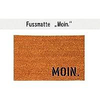 MOIN. Kokos-Fußmatte Teppich Fußabtreter 40 x 60 cm Geschenk Einzug Geburtstag