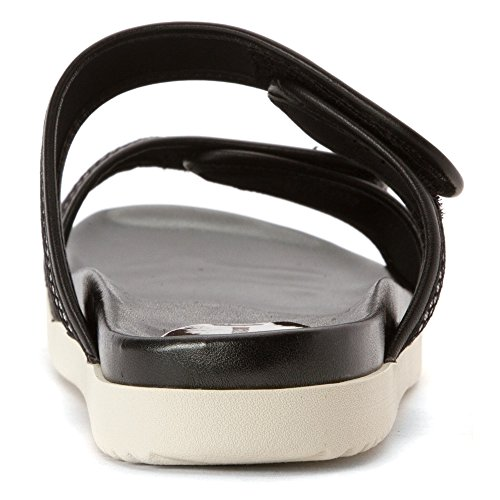 Easy Spirit Maelina Toile Sandale Sil-Blk