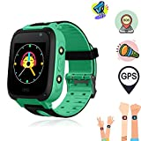 SeTracker Kid's Smartwatch with GPS Tracker, Micro Sim Card For SOS Calling, Touch