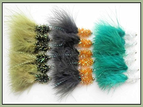 trout-flies-18-lures-streamers-three-colour-varieties-size-10-fly-fishing-great-still-water
