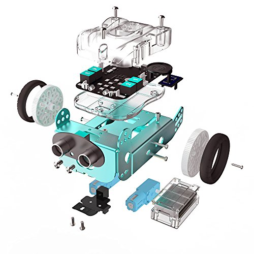 STEAM Robotics Kit Super APP Gesteuerter Robot Smart Car Kit DIY Arduino Programmierbarer Roboter STEM Educational Roboter Spielzeug Starter Kit für Kinder (Grün) (Roboter-diy)