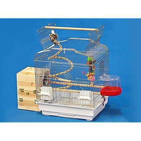 XWG Birdcage / cromato Parrot Cage / gruppo Birdcage / Allevamento Gabbia / Birdcage Grande / Parrot Cage / Può Essere un nido d'uccello ( colore : 1#
