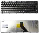 Tastatur für Fujitsu Lifebook AH530 A531 NH751 A530 AH531 NH751 AH512 A512 ohne Rahmen