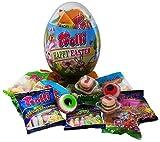 Trolli Osterei mit Trolli Glotzer, Trolli Saure Glühwürmchen und Trolli Burger, 1er Pack (1 x 325g)