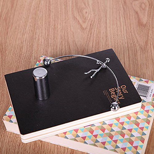 Liegen - Mini Newtons Wiege - Balance Schwerkraft - Männer Bälle Physik Klassische Wissenschaft Schreibtisch Spielzeug kaufen