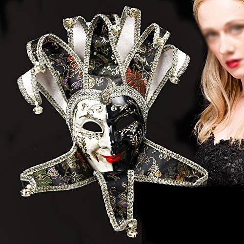 Glockenblume Kostüm - FEIYAN HOME Halloween Maske Venedig Maskerade