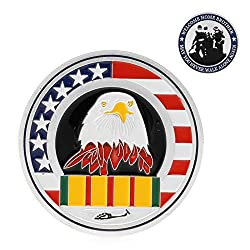 Alcoa Prime Silver Plated For Welcome Home Brother Eagle Souvenir Challenge Commemorative Coin