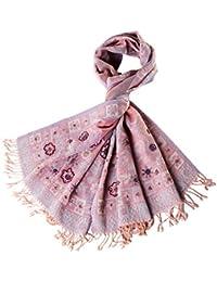 265f91fa7879 WSY Sciarpa di vento Scialle di perline fatti a mano in Nepal Sciarpa di  lana Sciarpa di autunno e inverno signore…