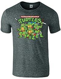 Ninja Turtles Mighty Männer Unisex Mutant Zeichen-T-Shirt