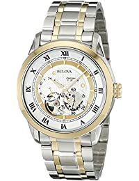 (CERTIFIED REFURBISHED) Bulova Automatic Analog Silver Dial Men's Watch - 98A123