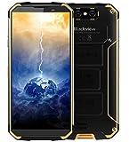 Blackview BV9500, 10000mAh-Schnellladeakku, IP68/IP69K Wasserdicht/Stoßgesichert Android 8.1 Smartphone, 2.5GHz 4GB+64GB - Gelb