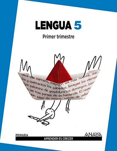 Lengua 5. (Aprender es crecer) - 9788467832921 por Carmen Bello Crespo