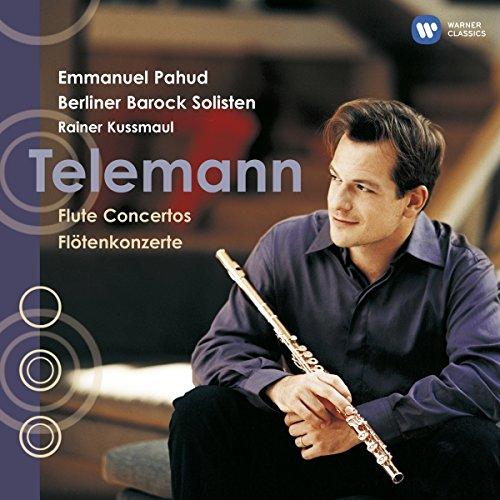 Emmanuel Pahud: Telemann - Flötenkonzerte (Audio CD)