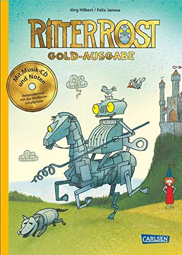 Ritter Rost 1: Ritter Rost, Band 1: Goldausgabe: Buch mit CD