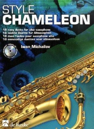 Style Chameleon Altsaxophon, für 2 Altsaxophone, m. Audio-CD