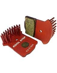 Kool Stop Uni Aero Disk Brake Pads Magura MT2, MT4, MT6, MT8freno, Rojo, One size