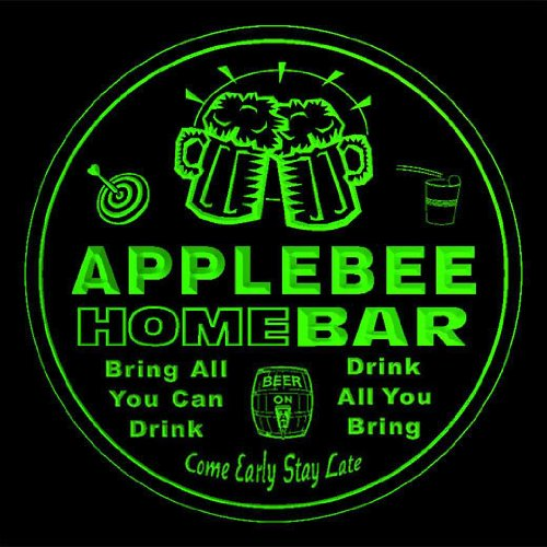 4x-ccq01115-g-applebee-family-name-home-bar-pub-beer-club-gift-3d-coasters