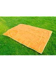 Bundle Monster - Esterilla manta grande impermeable con bolsa para llevarla y cordón de cierre - Calabaza