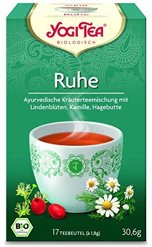 10 x Yogi Tee BIO Ruhe Tee (=10er Pack) (frachtfreie Lieferung innerhalb Deutschlands) (Tee Gerste)